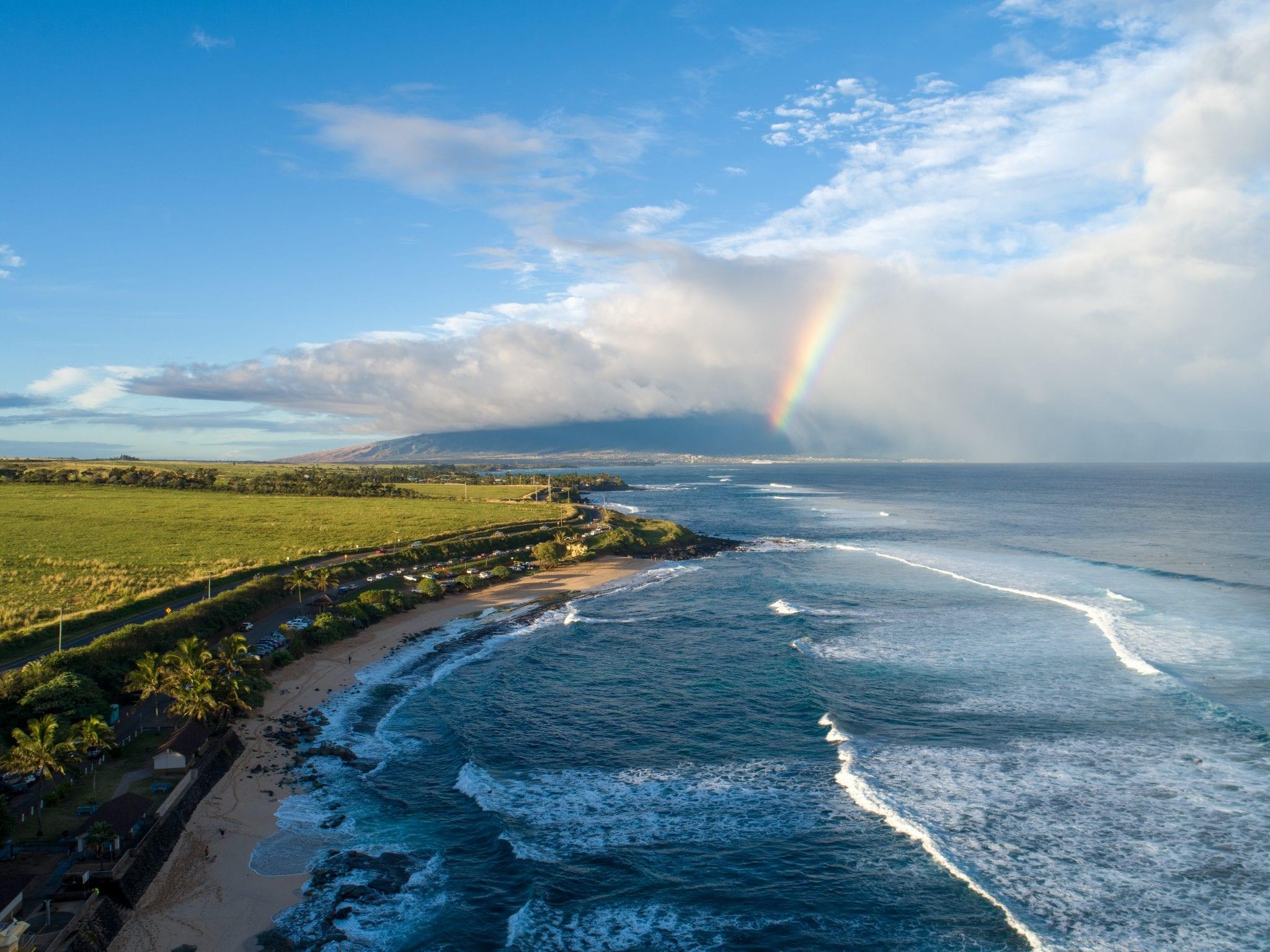 Lanes Beach Maui, Hawaii