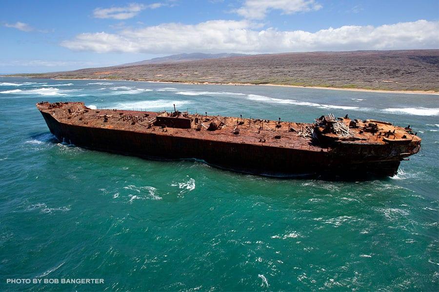 Shipwreck Beach Maui-Lanai, Hawaii